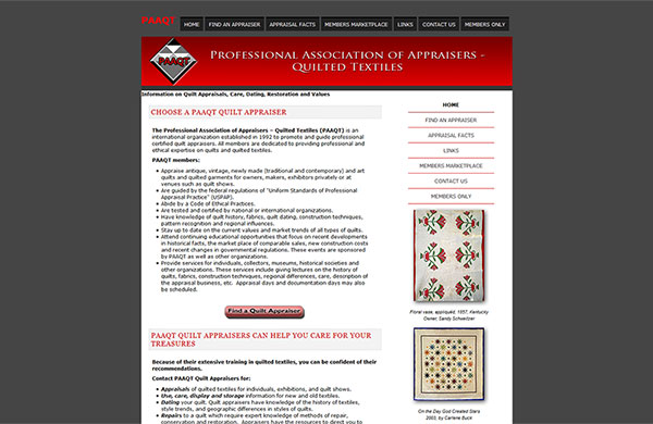 Professional Association of Appraisers of Quilted Textiles